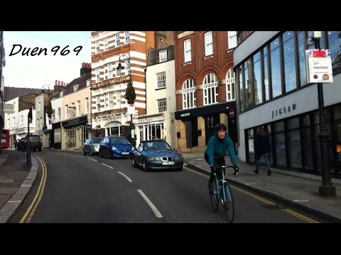 London Streets (447.) - Avenue Road - Swiss Cottage - Hampstead - Spaniards Rd