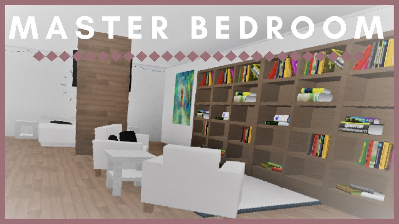 Roblox welcome to bloxburg master bedroom youtube for Kitchen designs bloxburg