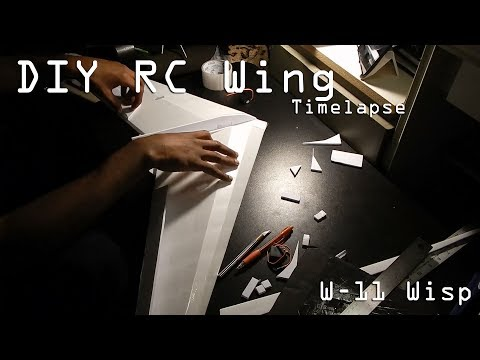 DIY RC Flying Wing | W-11 Wisp