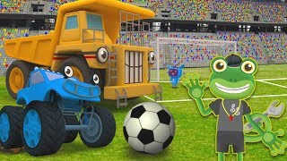 Big Truck Football Match | Gecko's Garage World Cup