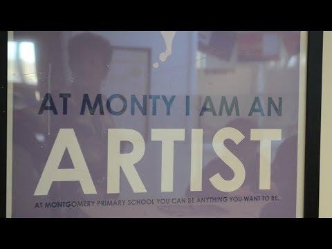 At Monty, I Am An Artist!