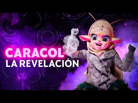 ¡Nadie se esperaba a Paola Espinosa como Caracol! | #QuiénEsLaMáscara 2021