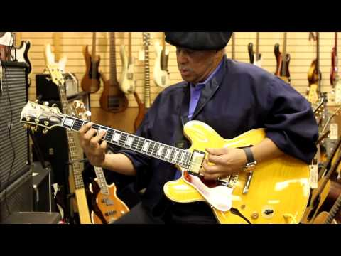 Al McKay again at Norman's Rare Guitars