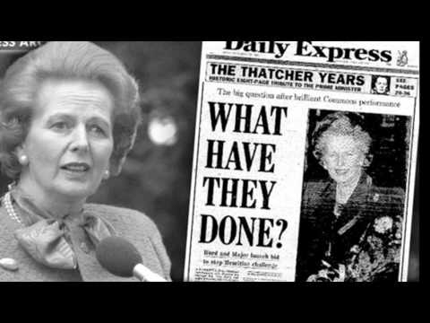 14th November 1990: Margaret Thatcher faces leadership chall