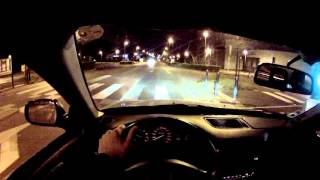 night drive in a honda civic ek3 1 5 vtec go pro hd