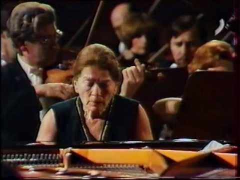 """Annie Fischer plays Mozart: Klavierkonzert C-dur (""""Elvira Madigan"""")"""