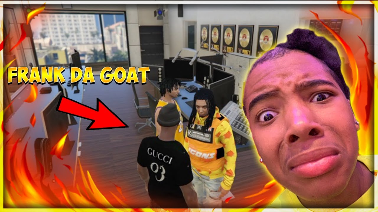 GTA 5 ROLEPLAY- BEING FRANKDAGOAT FOR A DAY (I SHOT A MUSIC VIDEO!!!) thumbnail