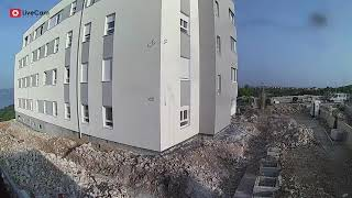 Gradlište Bibinje, Projektgradnja, Time - lapse