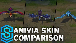 Anivia Skin Comparison - All Anivia Skins | League of Legends