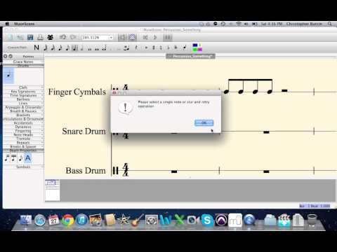 MuseScore Tutorial 2:  Adding Notes