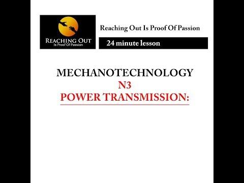 Mechanotechnology N3-Power transmissions