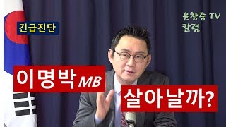 (긴급진단) 이명박 살아날까? 윤창중 TV 칼럼(2017.12. 26)