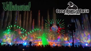 """World of Color: Villainous"" first show during Oogie Boogie Bash at Disney California Adventure"