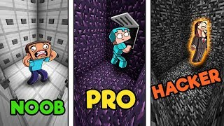 Minecraft - ESCAPE ROOM! (NOOB vs PRO vs HACKER)