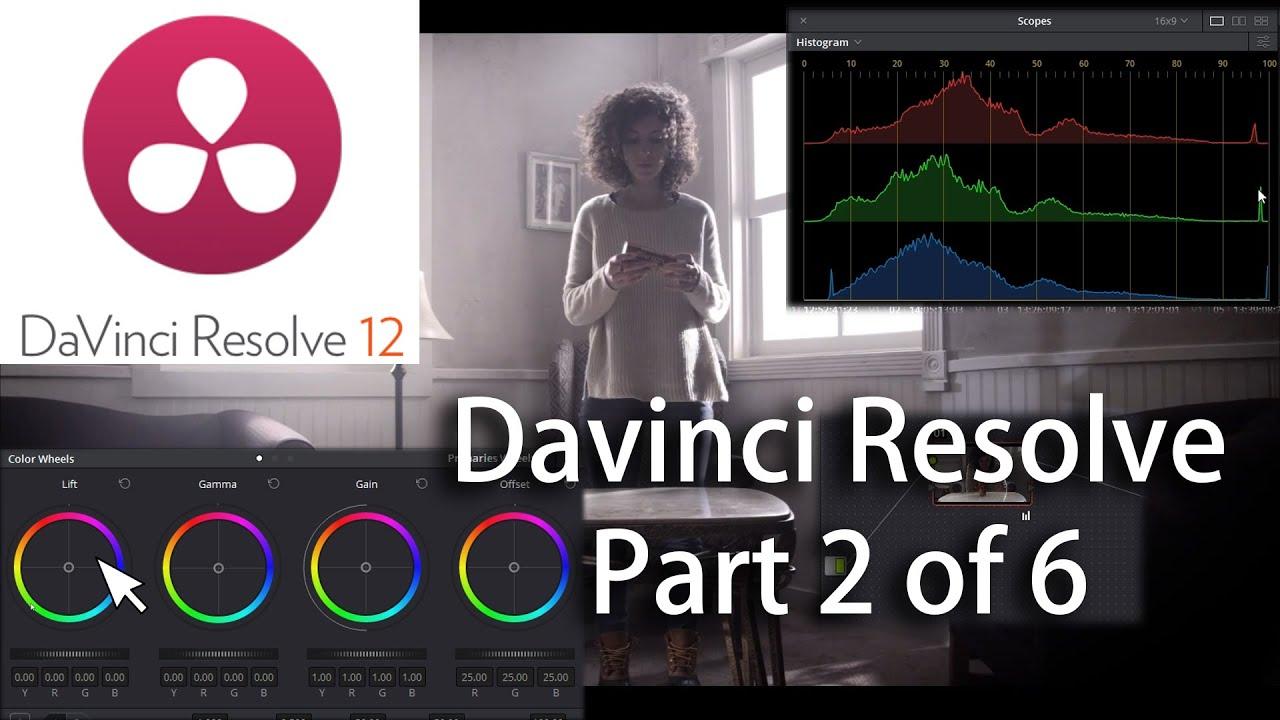 how to use davinci resolve 12