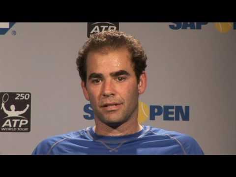 Pete Sampras on Roger Federer