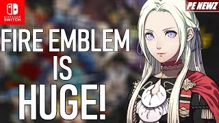 FE Heroes' HUGE Revenue Points to Major Fire Emblem Three Houses Sales! + eShop Update! | PE NewZ