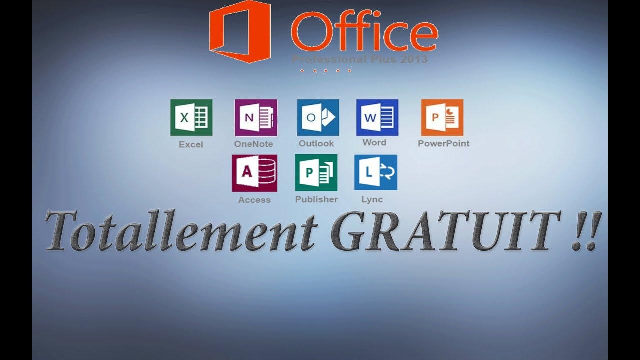 Comment avoir office pro 2013 gratuit youtube - Office professional plus 2013 gratuit ...