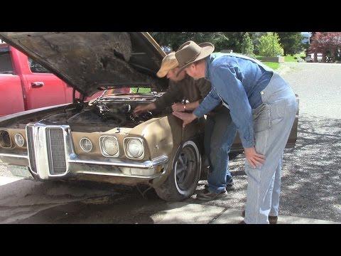 70 Pontiac SITS 31 YEARS! - will it START???