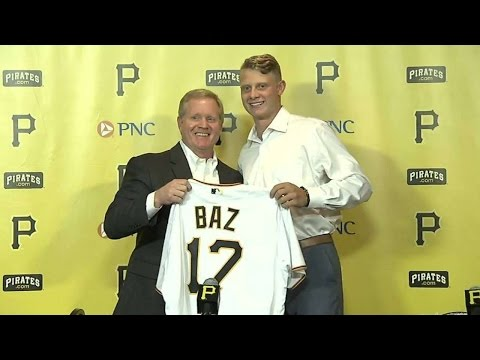 CHC@PIT: Baz talks about signing with the Pirates