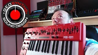 GEOSynths - Synth Show Reviews - Behringer MS-101 Monosynth