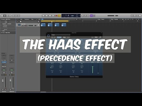 How To Create The Haas Effect (Precedence Effect)