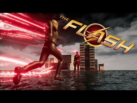 An Amazing Flash Game!!! || CW The Flash (fan Made Game)