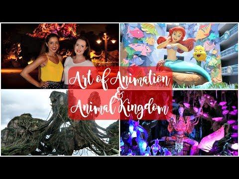 Disney World Vlog June 2017 | Art of Animation & Pandora at Animal Kingdom