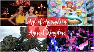 disney world vlog june 2017 art of animation pandora at animal kingdom
