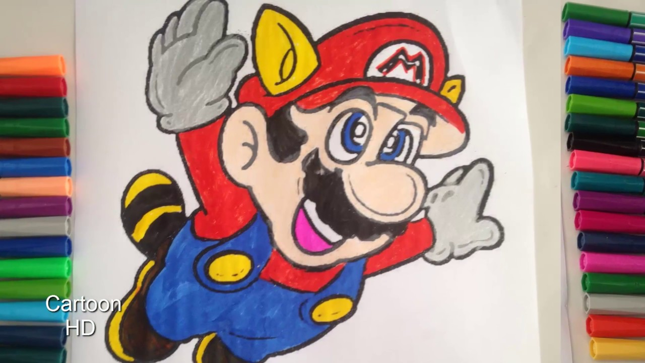 super mario bros coloring pages coloring book cartoon hd