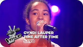 Cyndi Lauper - Time after time (Sayo) | Blind Auditions 2016 | The Voice Kids | SAT.1