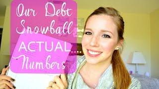 Video Dave Ramsey Debt Snowball - ACTUAL Numbers! || Life With Sarah download MP3, 3GP, MP4, WEBM, AVI, FLV Juli 2018