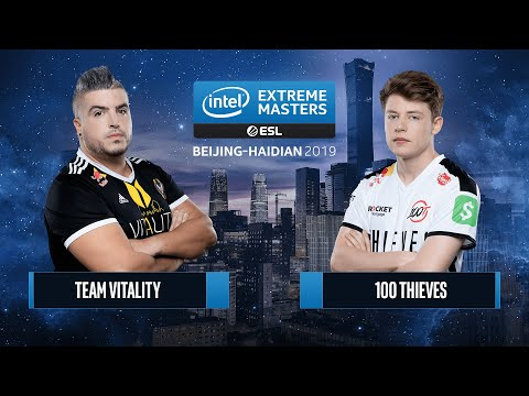 CS:GO - 100 Thieves Vs. Team Vitality [Inferno] Map 3 - Semifinals - IEM Beijing-Haidian 2019