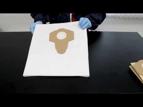 Мешок одноразовый синтетический для пылесоса 1230E 5шт Русский мастер