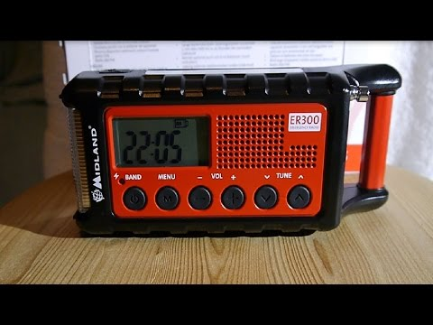 Gadget: MIDLAND ® ER 300 Emergency Radio