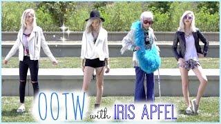 Spring OOTW with IRIS APFEL! ♡