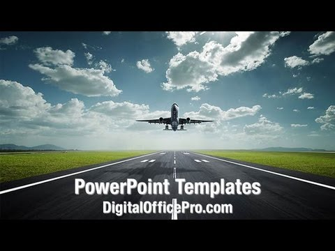 Airplane take off powerpoint template backgrounds digitalofficepro airplane take off powerpoint template backgrounds digitalofficepro 08459w toneelgroepblik Gallery