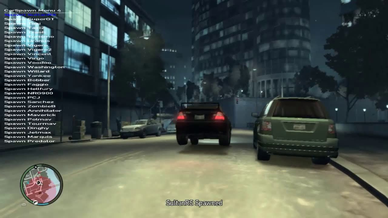 GTA IV Mod Menu Simple Trainer v6 5 Gameplay+Download(Only on PC)