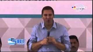 Inaugura RMV Centro de Salud y Alcantarillado de San Jeronimo Tecuanipan 03 10 14