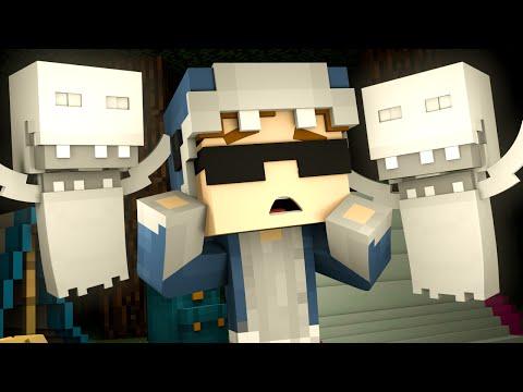 Minecraft Camp - GHOSTS?!