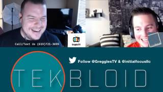 TekBloid Live Ep 19   LG V20   Pixel XL   Montreal   Bigo Live   Halo Board