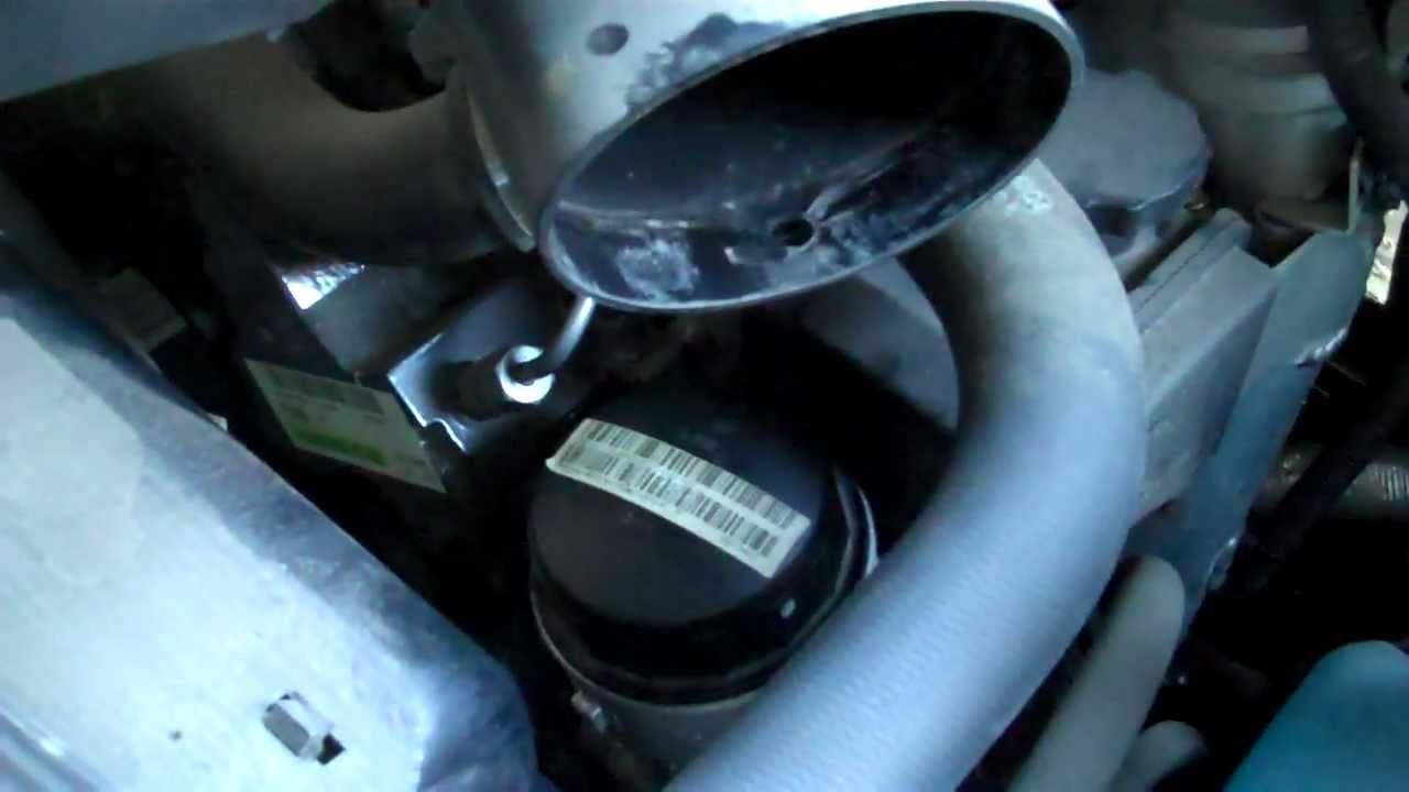 medium resolution of mb sprinter van 2010 2014 how to change an oil filter on a mercedes benz sprinter van youtube