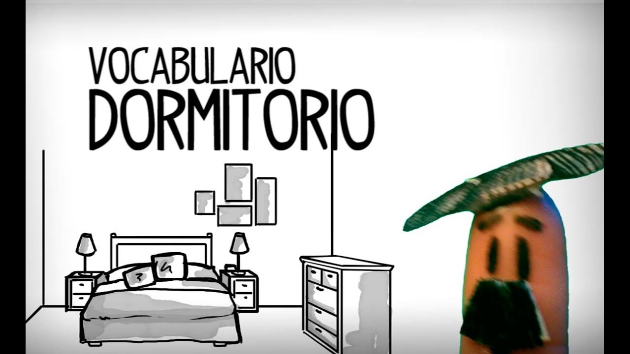 Bedroom vocabulary in spanish basic spanish youtube for Bedroom furniture vocabulary