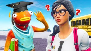 DUMMER FORTY geht zur SCHULE! in Fortnite Roleplay!