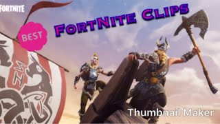 More Fortnite Clips (Battle Bus Glitch, Running back words glitch, Snipes and more)