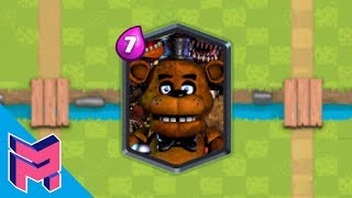FNAF in Clash Royale Hack Animation