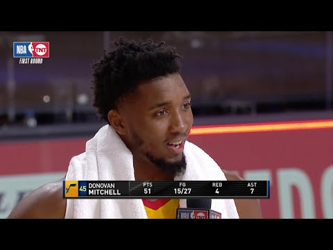 Donovan Mitchell Joins MJ & A.I. As Only Players To Score Multiple 50-PT Games In Playoff Series