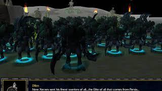 Warcraft 3: 300 Spartans! We die for Sparta!