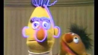 Een tekening van Bert (Dutch Bert & Ernie)