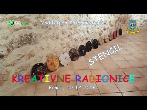 Kreativna radionica - Stencil
